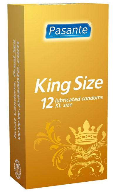Pasante King Size Preservativos XXL 12 uds.
