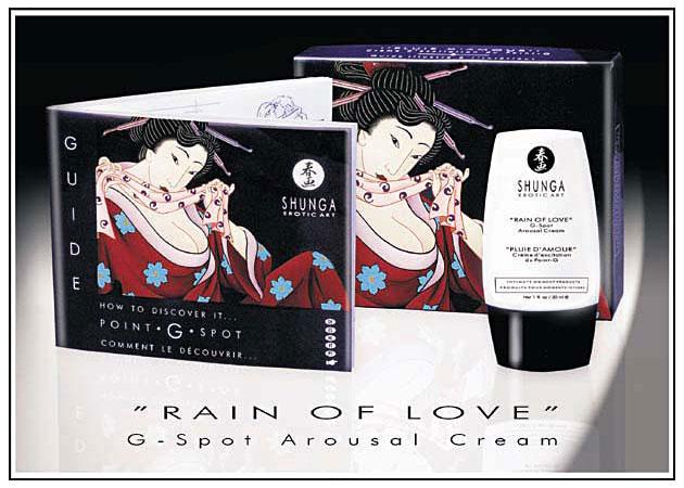 Crema Estimulacion Punto G Rain of Love 30 ml