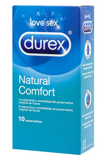 Preservativos Durex Natural Comfort 10 uds.