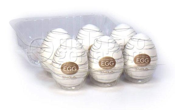 Huevos Tenga Egg Silky Pack 6 uds.
