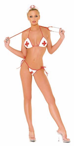 Conjunto Enfermera Sexy